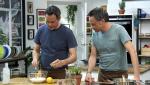 Torres en la cocina - Rollitos de coliflor y pincho de pavo villeroy