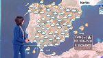 Este martes, lluvias fuertes y viento en el litoral gallego