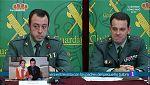 Rueda de prensa de la Guardia Civil por la muerte de Gabriel Cruz