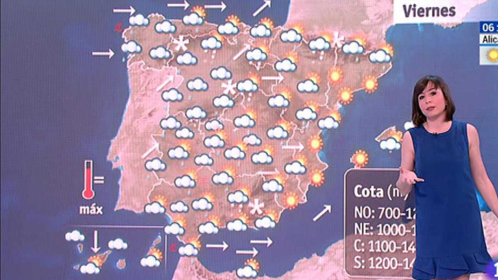 El Tiempo | Este viernes habrá precipitaciones en la península y ...