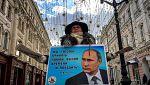 Putin gana popularidad entre los jóvenes rusos que votan por primera vez