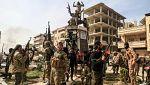 Las tropas turcas toman el control de la ciudad siria de Afrín