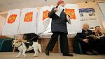 Rusia vota para perpetuar a Putin