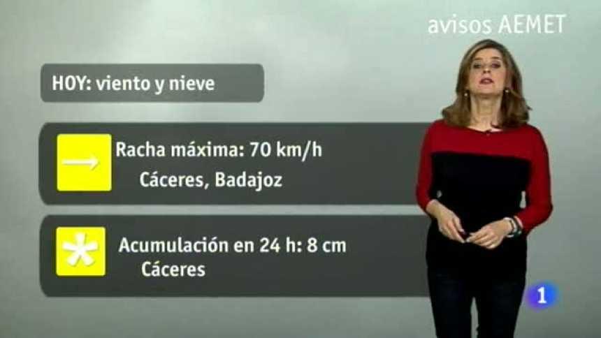 El tiempo en Extremadura - 19/03/18