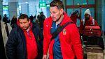 La selección española de rugby regresa a casa indignada