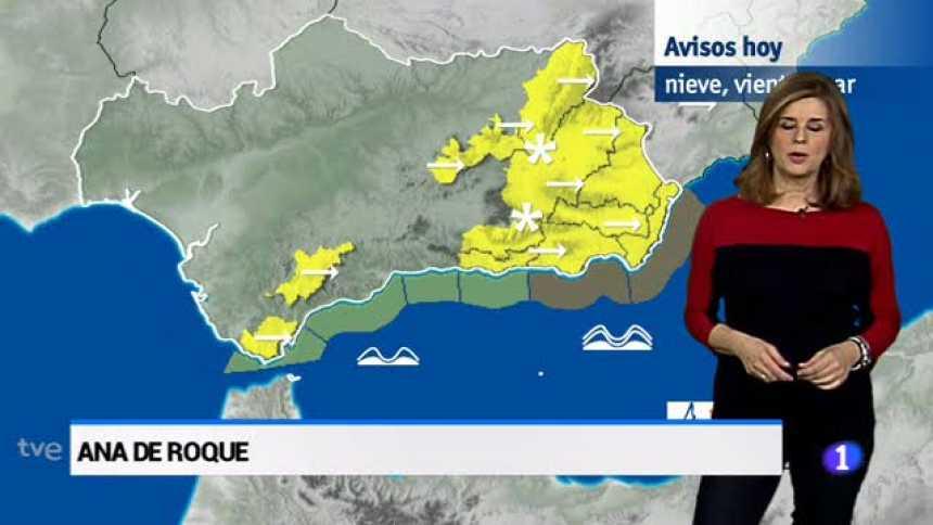 El tiempo en Andalucía - 19/03/18