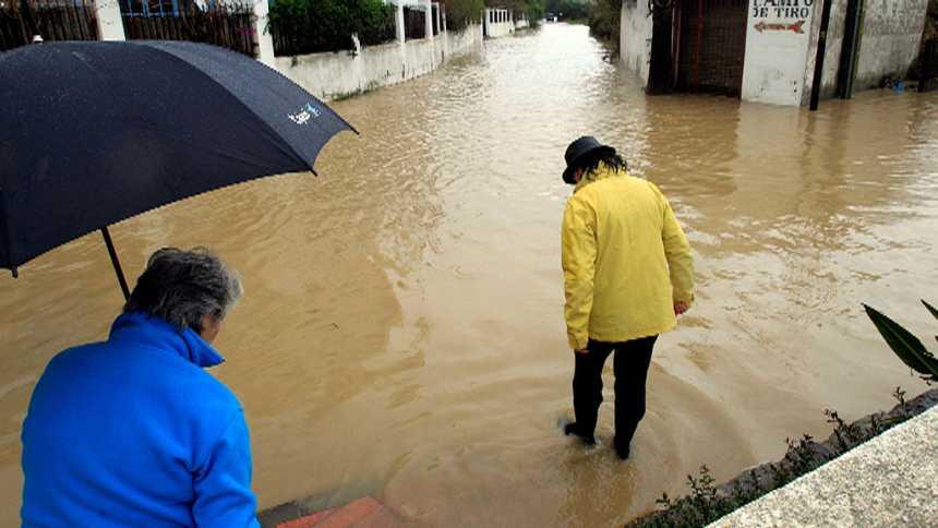 Precipitaciones fuertes en Mallorca y Menorca. Posibilidad de precipitaciones localmente fuertes y/o persistentes en el Cantábrico