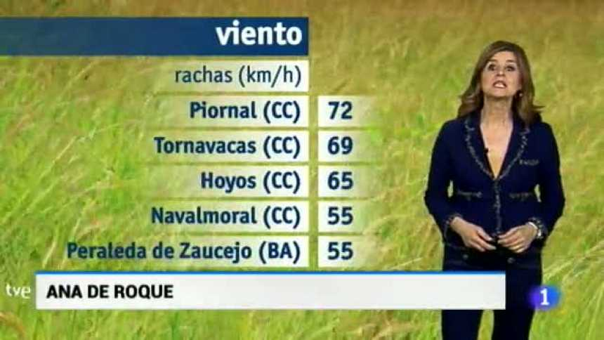 El tiempo en Extremadura - 20/03/18