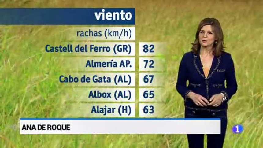 El tiempo en Andalucía - 20/03/18