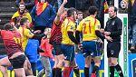 La Federación Española pide repetir el partido ante Bélgica