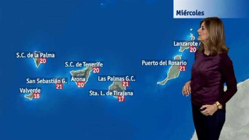El tiempo en Canarias - 21/03/2018