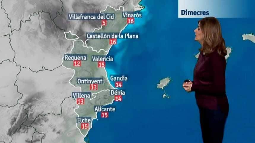 El tiempo en la Comunidad Valenciana - 21/03/18