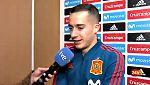 """Lucas Vázquez: """"Zidane siempre me da consejos"""""""