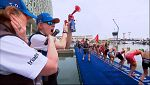 Triatlón - ITU World Series. Prueba Abu Dhabi. Resumen