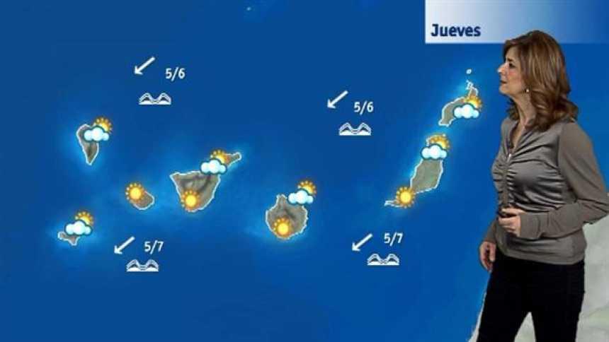 El tiempo en Canarias - 22/03/2018