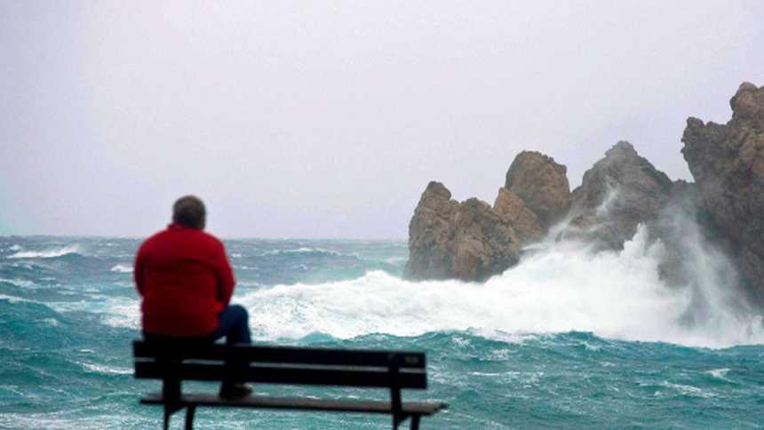 Rachas de viento muy fuertes en la segunda mitad del día en Galicia, Cantábrico y amplias zonas de la vertiente atlántica, sureste y levante peninsular