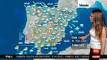 Viento muy fuerte en todo el país y lluvias en el norte y este peninsular y Baleares