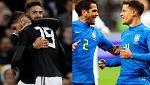Argentina y Brasil ganan sus amistosos