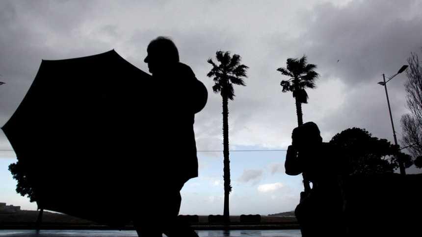 Lluvia en Cantábrico y viento muy fuerte en amplias zonas del país