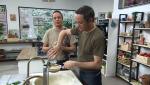 Torres en la cocina - Quinotto y costillas confitadas
