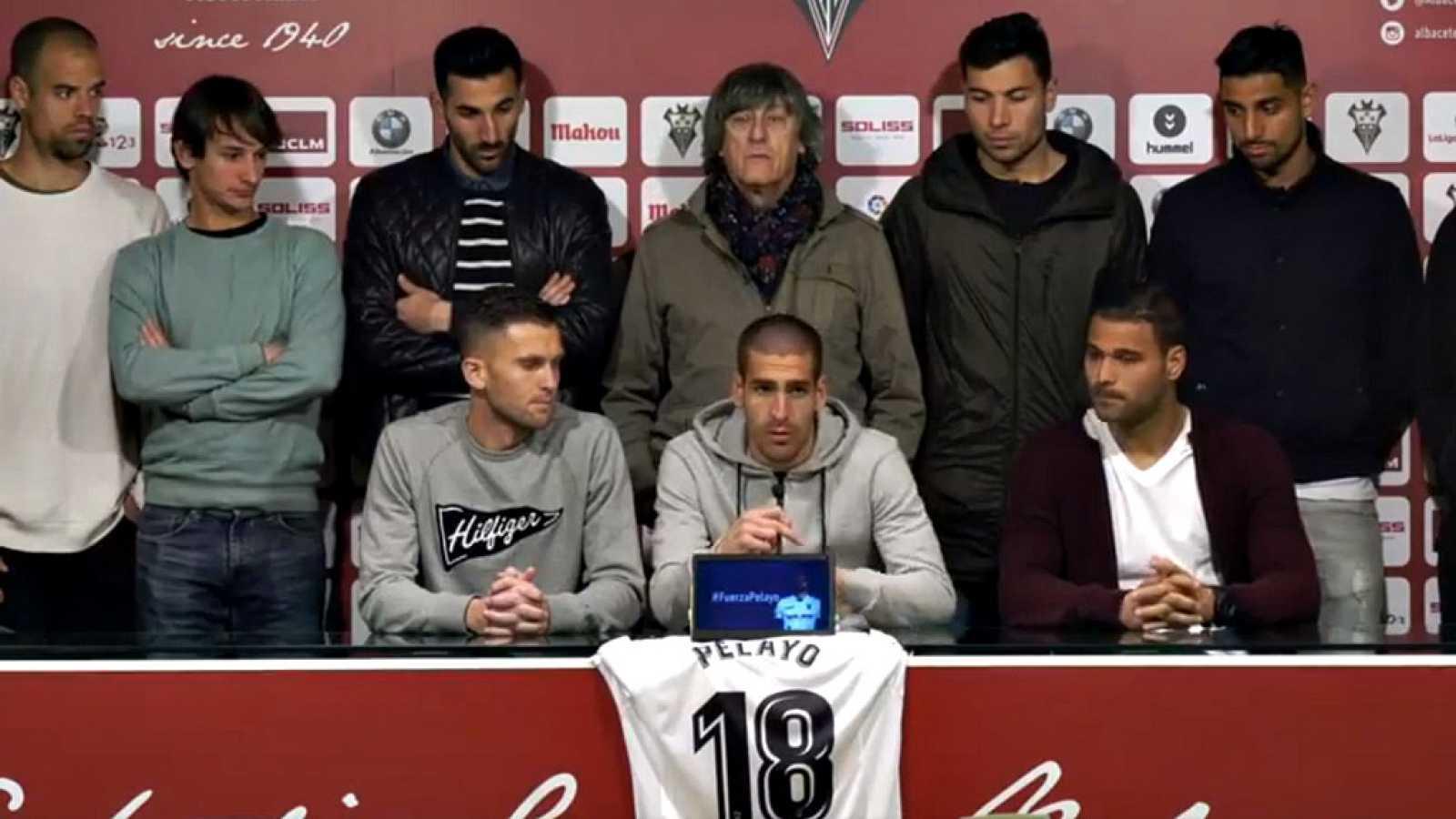 La plantilla del Albacete agradece los apoyos recibidos tras ...