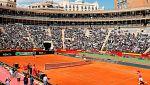 Máxima expectación para el España - Alemania de Copa Davis