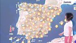 Este jueves habrá precipitaciones en el oeste peninsular y más dispersas en Galicia y norte