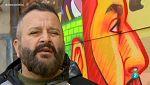 Atención obras - Arte urbano en las cocheras del metro de Cuatro Caminos, en Madrid