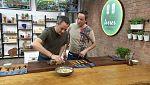 Torres en la cocina - Vichyssoise de almendras y espaguetis gambonara