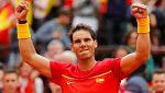 Nadal pone las tablas el el España - Alemania de Copa Davis