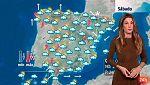 Inestabilidad y lluvias generalizadas en todo el país, con temperaturas a la baja