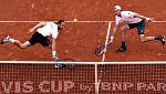 El dobles alemán pone contra las cuerdas a España