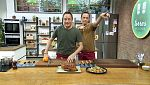 Torres en la cocina - Tabulé de romanesco y pato con cítricos