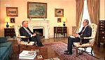 Entrevista al presidente de la República de Portugal Marcelo Rebelo de Sousa
