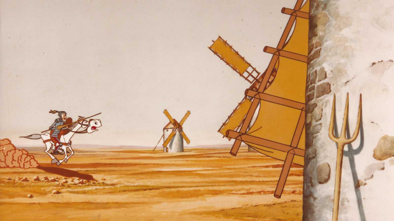 Don Quijote De La Mancha Serie De Dibujos Animados 1979 Rtve Es
