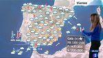 Este viernes persisten las lluvias en la Península y Baleares y suben las máximas