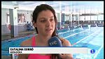 Cati Corró torna a la piscina