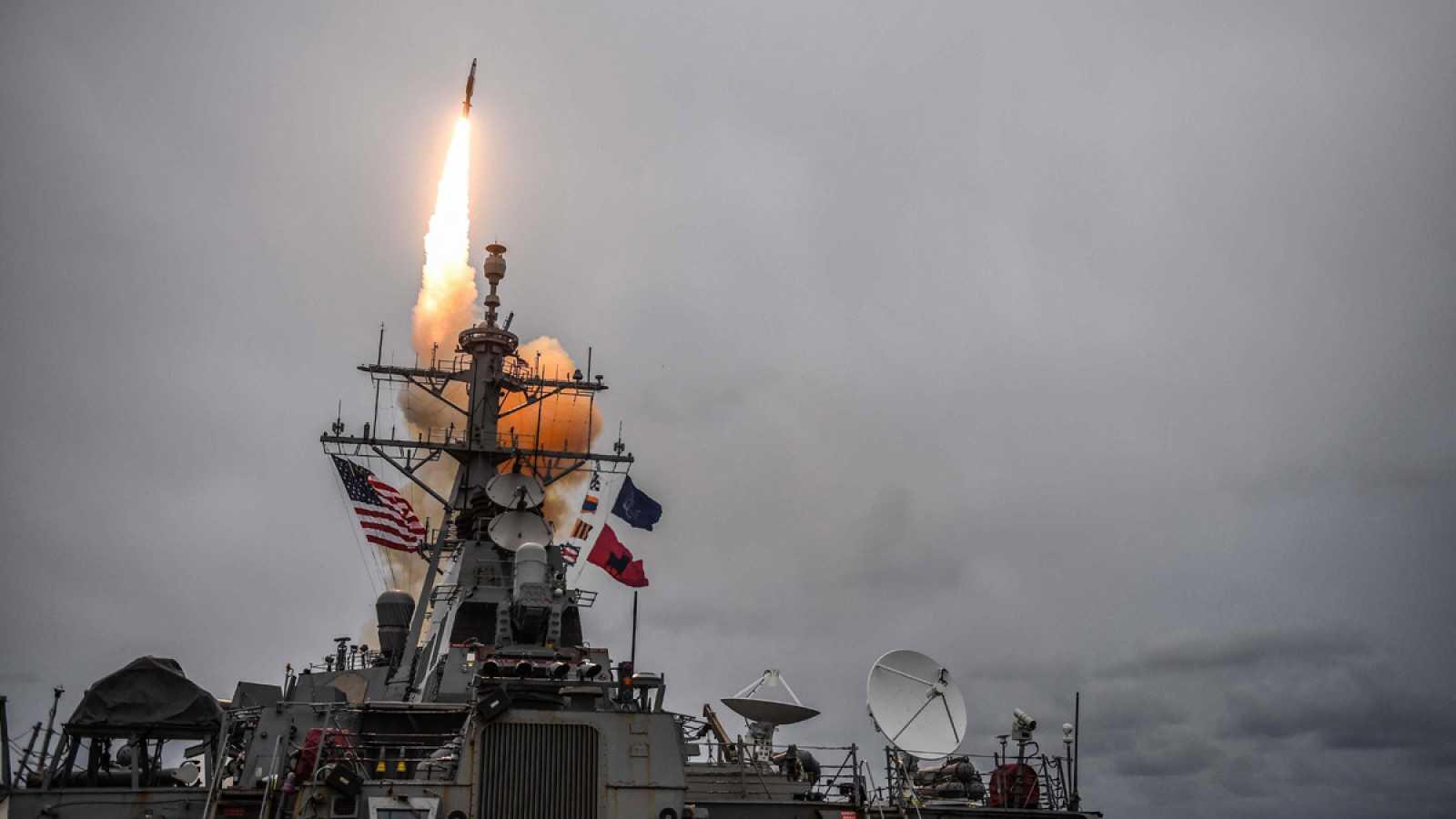 Estados Unidos, Francia y Reino Unido lanzan un ataque con misiles contra  Siria