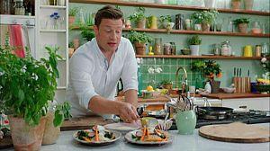 La súper comida de Jamie: Carbonara cremosa y estofado ahuma