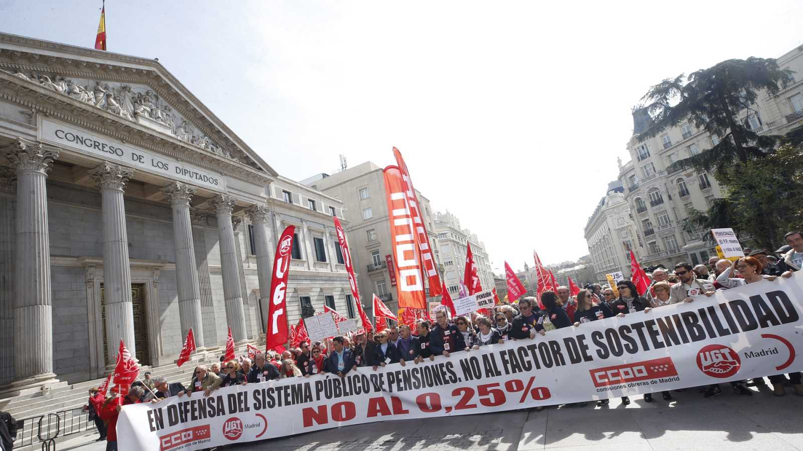 Ccoo y ugt vuelven a salir a la calle para pedir que las pensiones se actualicen con el ipc - Actualizacion pension alimentos ipc ...