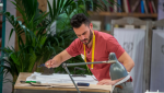 Maestros de la costura - Antonio sufre un percance