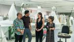 Maestros de la costura - Tres ayudantes para tres aprendices