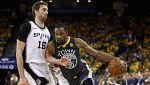 Los Spurs dan la cara pero vuelven a caer ante los Warriors