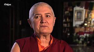 Paloma Alba, monja budista. Coordinadora espiritual del Cent