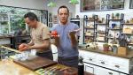 Torres en la cocina - Tomate relleno y pescado poblano