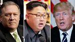 El director de la CIA se entrevistó con Kim Jong un en Corea del Norte