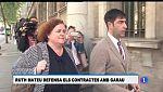 L'exconsellera Ruth Mateu defensa els contractes a Garau