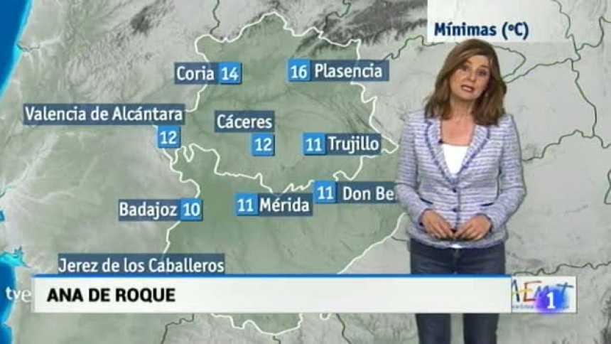 El tiempo en Extremadura - 19/04/18