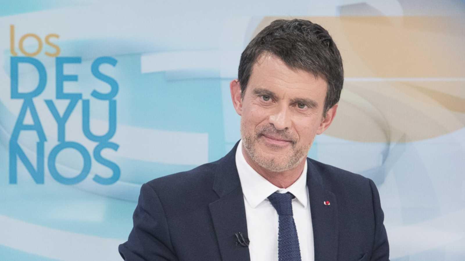 Los desayunos de TVE - Manuel Valls, exprimer ministro de Francia ...