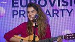 Eurovisión 2018 - Amaia canta 'Al cantar' en la EsPreParty